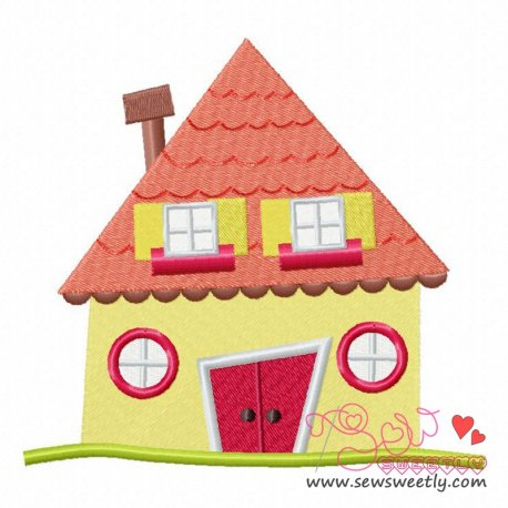 Neighborhood-1 Machine Embroidery Design For Kids