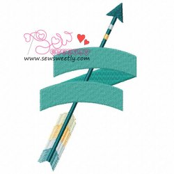Ethnic Arrow-4 Embroidery Design