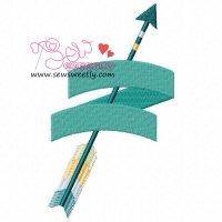 Ethnic Arrow-4 Embroidery Design