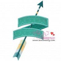 Ethnic Arrow-4 Applique Design