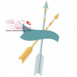 Ethnic Arrows-3 Embroidery Design