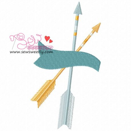 Ethnic Arrows-3 Machine Embroidery Design For Kids