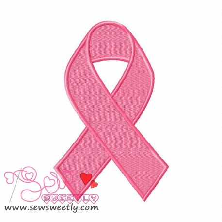 Remembrance Ribbon Machine Embroidery Design For Kids