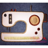 Modern Sewing Machine Applique Design
