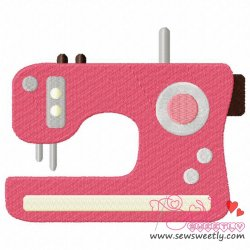 Modern Sewing Machine Embroidery Design