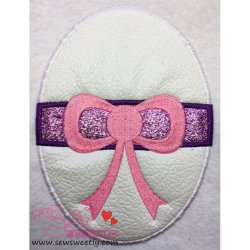 Easter Egg Machine Applique Design For Kids