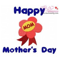 Mother's Day-2 Embroidery Design