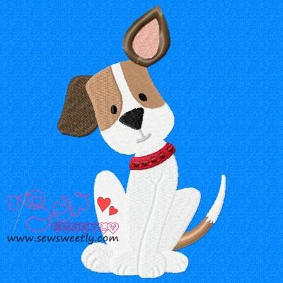 Beagle Dog-3 Embroidery Design