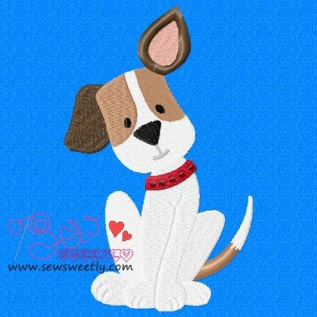 Beagle Dog-3 Machine Embroidery Design