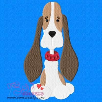 Beagle Dog-1 Embroidery Design