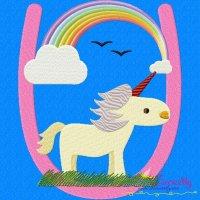 Animal Letter-U- Unicorn
