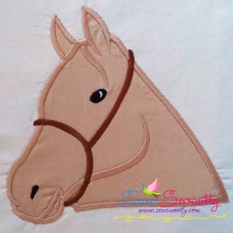 Horse Machine Applique Design For Kids And Animal Lovers
