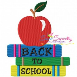 Back To School-4 Machine Embroidery Design