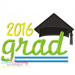 Grad-2016 Machine Embroidery Design