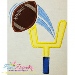 Field Goal Applique Design