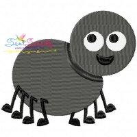 Halloween Spider Embroidery Design