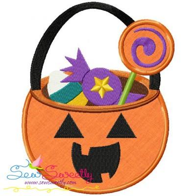 Halloween Candy Applique Design