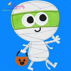 Mummy Applique Design