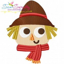 Scarecrow-2 Embroidery Design