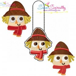 Scarecrow Combo Pack Embroidery Design