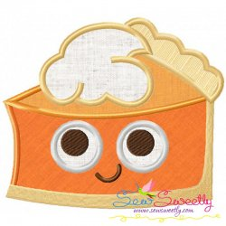 Pumpkin Pie Applique Design