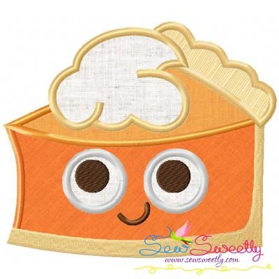 Pumpkin Pie Applique Design