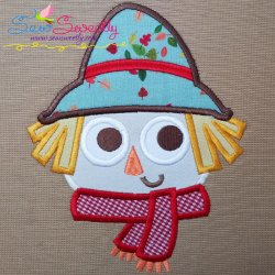 Scarecrow-2 Applique Design