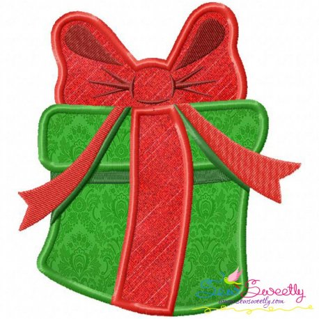 Gift Applique Design Pattern- Category- Christmas Designs- 1