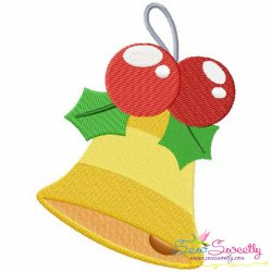 Christmas Bell-2 Embroidery Design