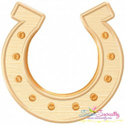 St.Patrick's Day Horseshoe Applique Design