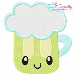 St.Patrick's Day Beer Kawaii Embroidery Design