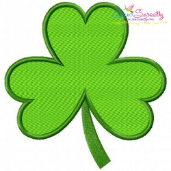 St.Patrick's Day Shamrock Embroidery Design