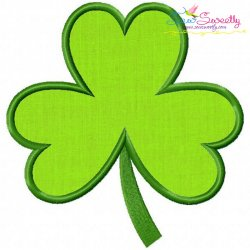 St.Patrick's Day Shamrock Applique Design
