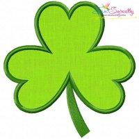 St.Patrick's Day Shamrock Applique Design