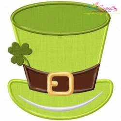 St-Patrick's Day Hat Applique Design
