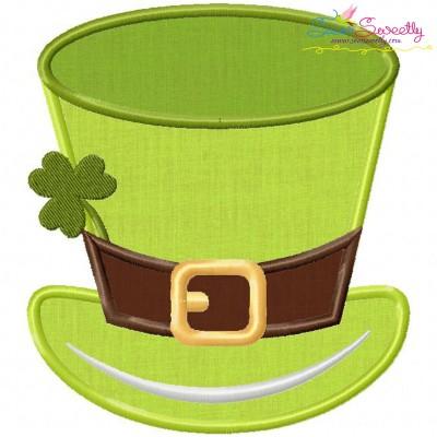 St-Patrick's Day Hat Applique Design
