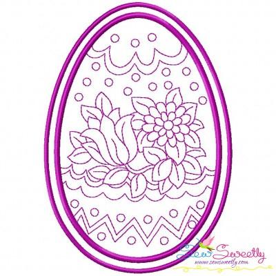 Bean Stitch Artistic Easter Egg-10