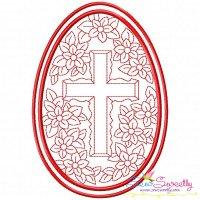 Bean Stitch Artistic Easter Egg-9