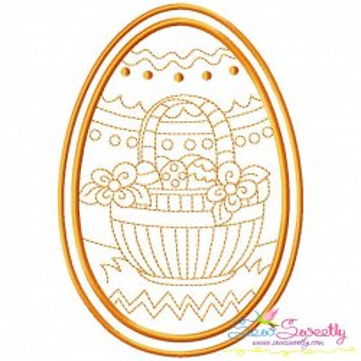 Bean Stitch Artistic Easter Egg-8