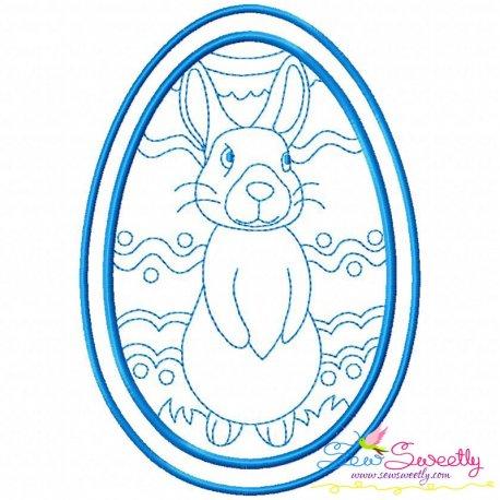 Bean Stitch Artistic Easter Egg-7