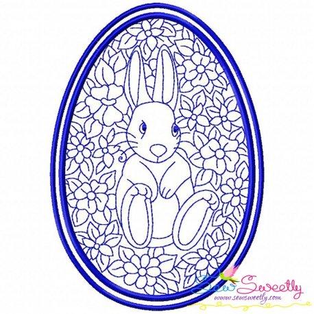 Bean Stitch Artistic Easter Egg-5