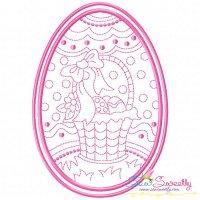Bean Stitch Artistic Easter Egg-4