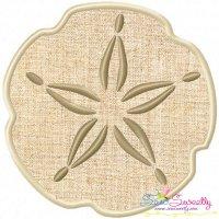 Sand Dollar Applique Design