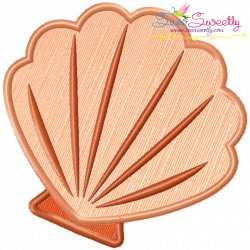 Shell-1 Applique Design