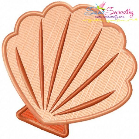 Shell-1 Applique Design