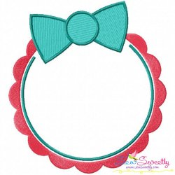 Summer Flower Frame-5 Embroidery Design
