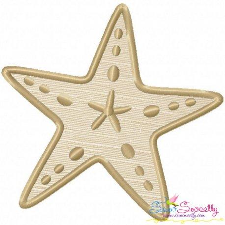 Star Fish Applique Design