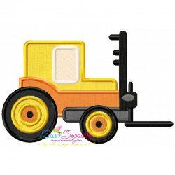 Forklift Applique Design