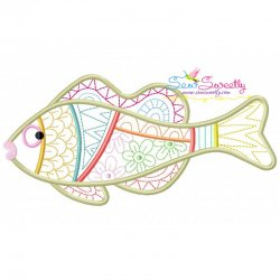 Magic Fish-10 Embroidery Design