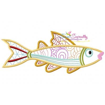 Magic Fish-09 Embroidery Design